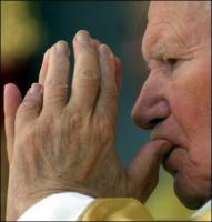 Jean-Paul II - mains jointes